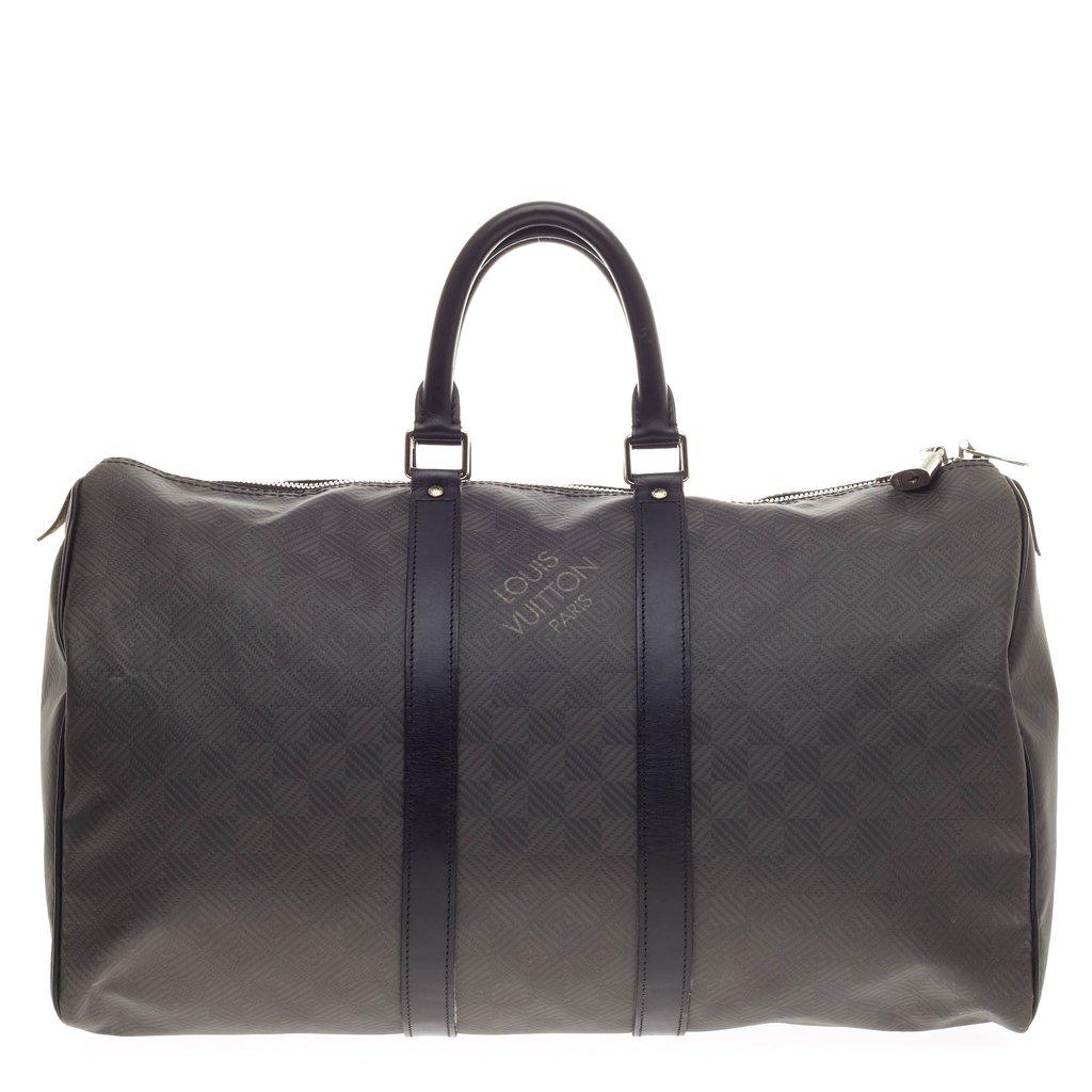 Louis Vuitton 101 Material Guide Damier Carbone