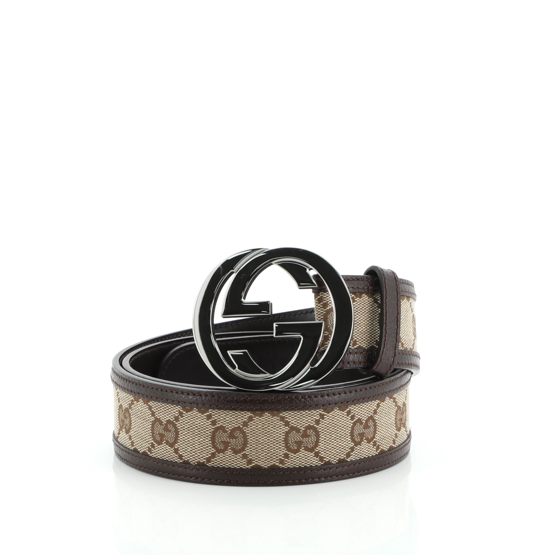 Designer Belts 101 Gucci GG Interlocking Belt