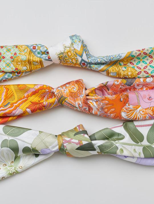 Hermes 101 Silk Scarves