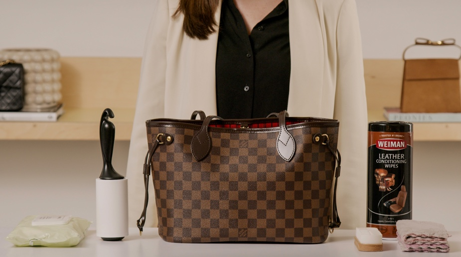 Handbag 101: How to Clean Your Neverfull Tote Materials