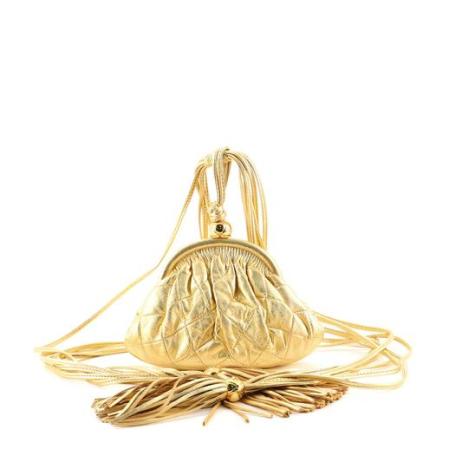 Chanel Vintage Tassel Frame Waist Bag