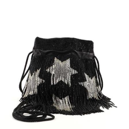 Saint Laurent Fringe Bucket Bag
